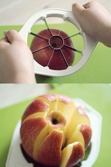 made in japan 일본완제품 애플(사과)커팅기 8조각