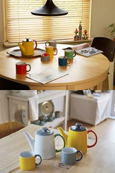 북유럽 디자이너 얀센코 마이 머그&티팟