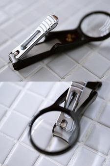 KAI 세키마고로쿠 확대경 손톱 깎이