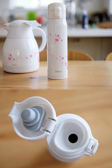 일본 펄라이프 벚꽃 화사 0.5L 텀블러