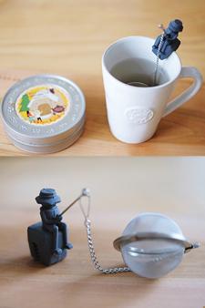 덜튼 차(tea) 인퓨저(infuser)  'fisherman'