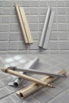 보드라운 금속의 아찔한 매력 meister 'RULER 펜'